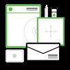 Web design de interface de usuário responsiva